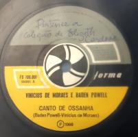 No acervo de Elizeth Cardoso, uma rara gravação de Baden e Vinicius